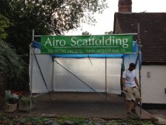 Airo Scaffolding at Work