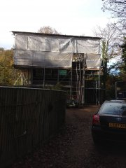 Domestic scaffolding project