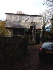Domestic scaffolding project