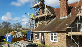 Scaffolders in Horsham